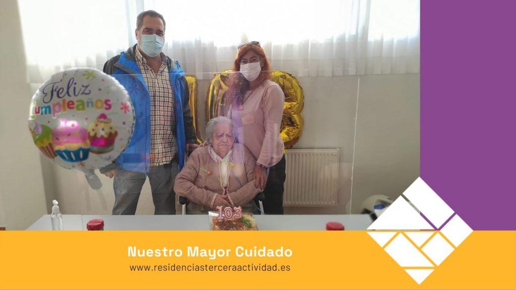 Cumpleaños, María Rosa